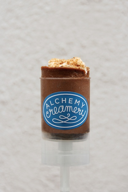 Alchemy chocolate cheesecake- Photo: Craft and Root Design