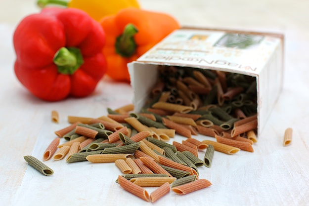healthy multi grain vegetable pasta