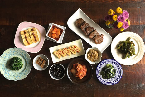 Vegetarian Korean Home Cooking Class