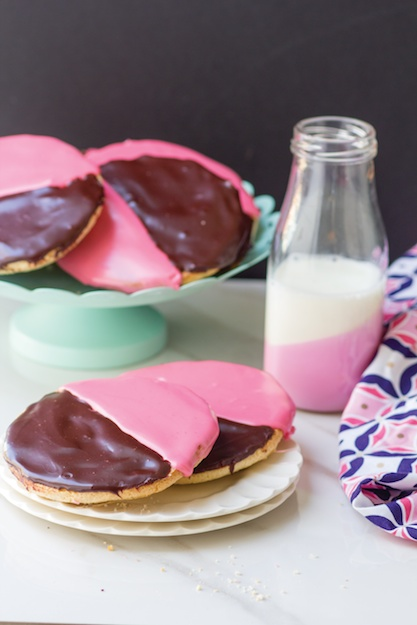 amy krtizer what jew wanna eat black and pink cookie recipe