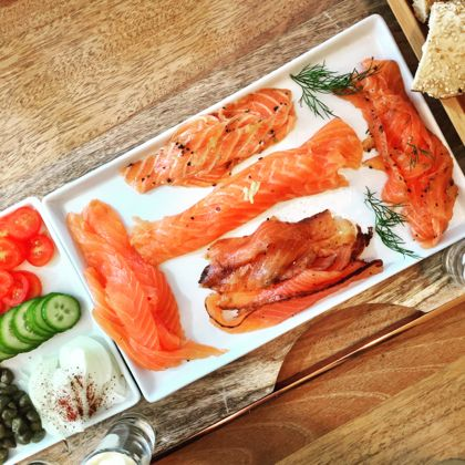 jewish food lox 5 ways