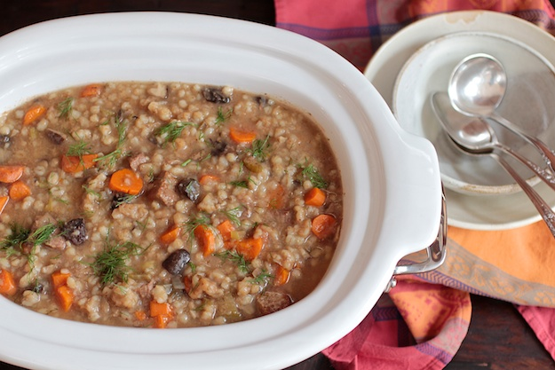 beef barley soup, Jewish food, Jewish classic, kosher soup