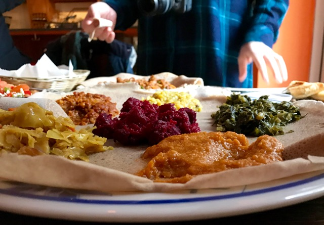 ethiopian cafe nyc, vegetarian highlights