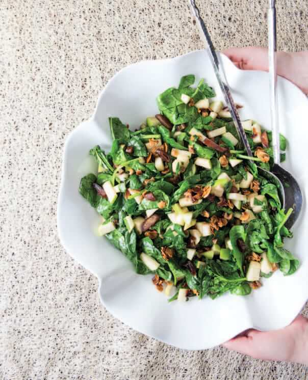 healthy salad Passover