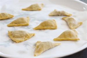 kreplach or soup dumplings - Kosher Like Me