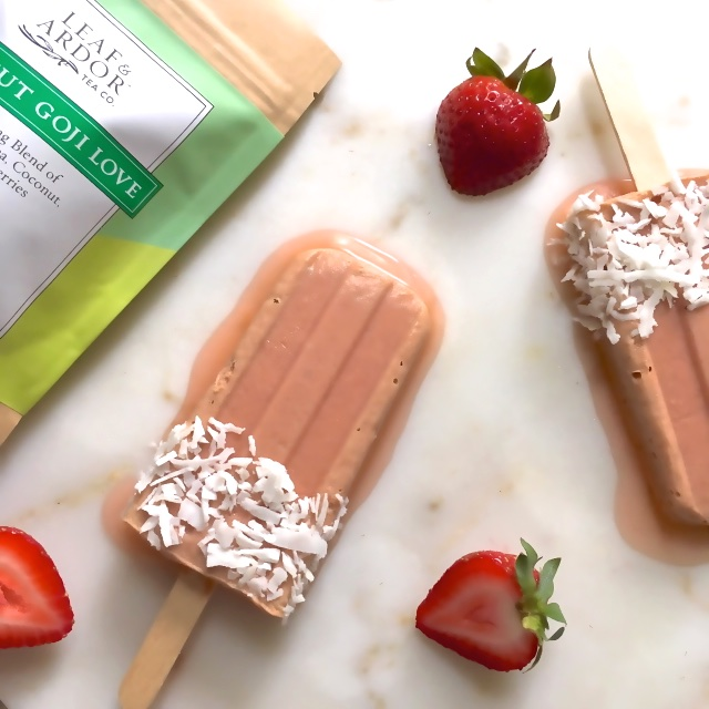 healthy kosher strawberry goji ice pops summer july 4