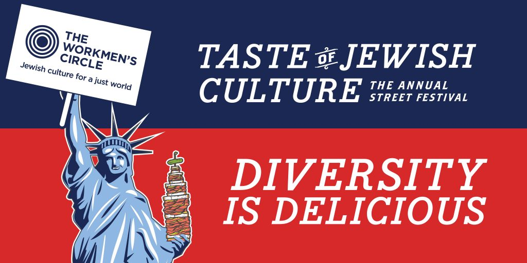 Taste of Jewish Culture Street Fair in NYC