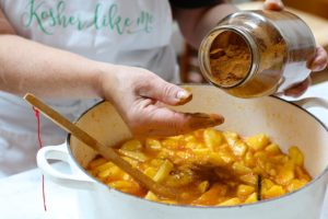 how to make summer peach jam