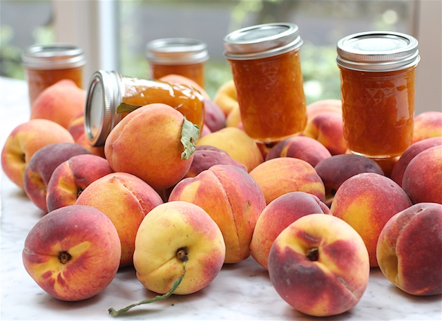 How to Make Old Fashioned Peach Jam the Easy Way