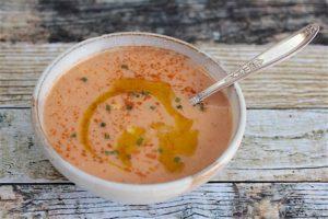 farm to table vegan kosher corn soup - Kosher Like Me