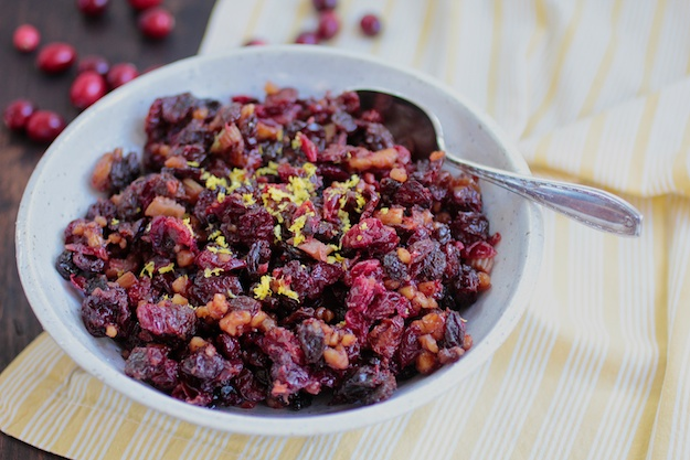Thanksgiving Chutney with Cranberries & Cherries