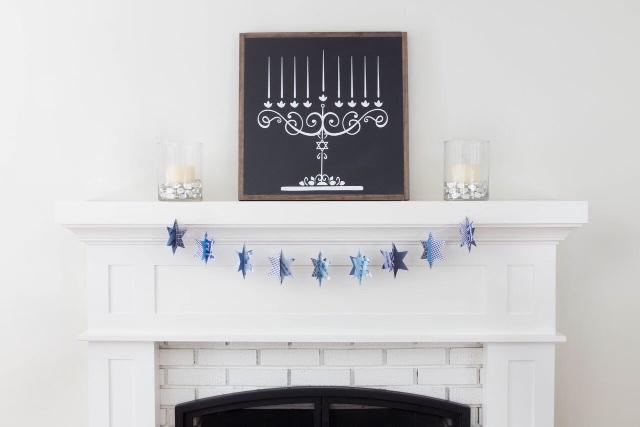 Chanukah gifts peace love light