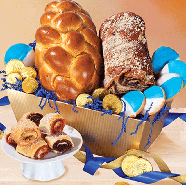 Kosher Chanukah gift basket