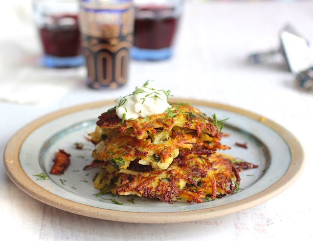 Get Sizzling with Greek Inspired Chanukah Latkes
