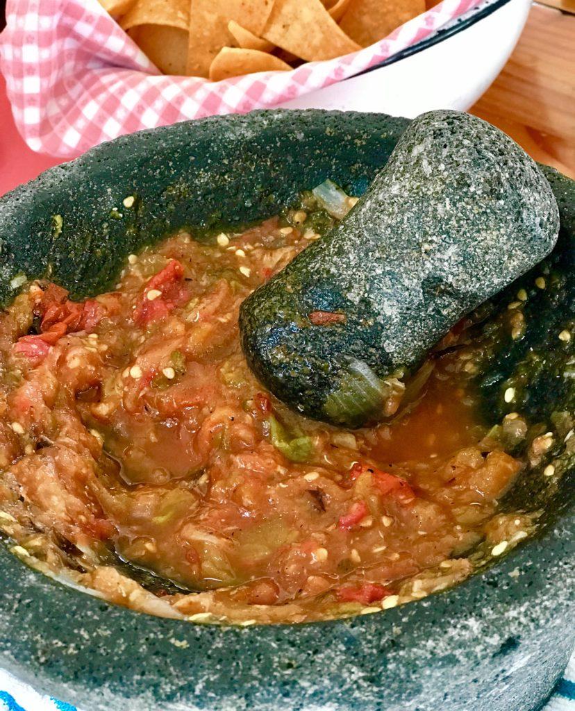 Roasted salsa Kosher Like Me cooks