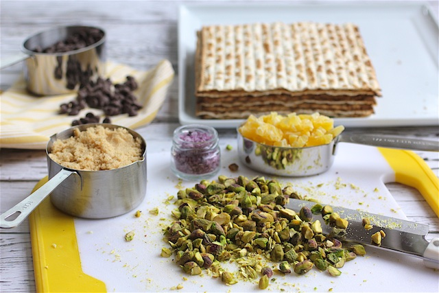 chocolate matzah passover