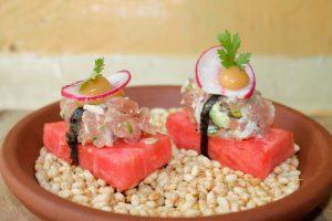 Timna NYC watermelon salad - Kosher Like Me