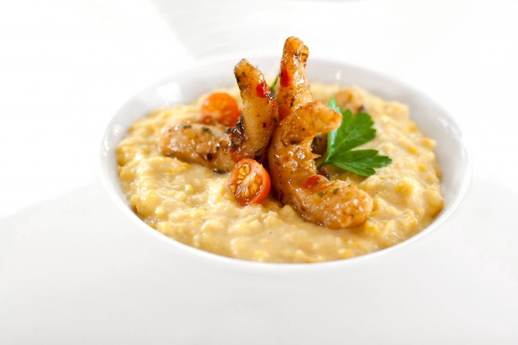 Fresh vegan kosher corn grits