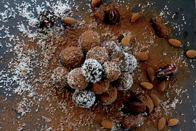 4 Ingredient Truffles & Rosh HaShanah Seder