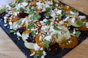 Rosh HaShanah kosher Beet apple salad