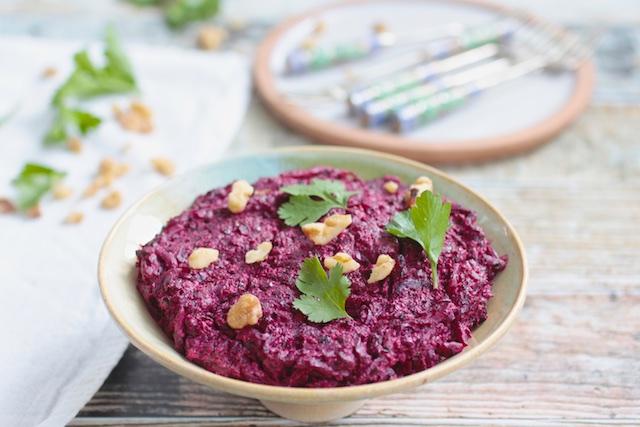 kosher vegan gluten free beet puree