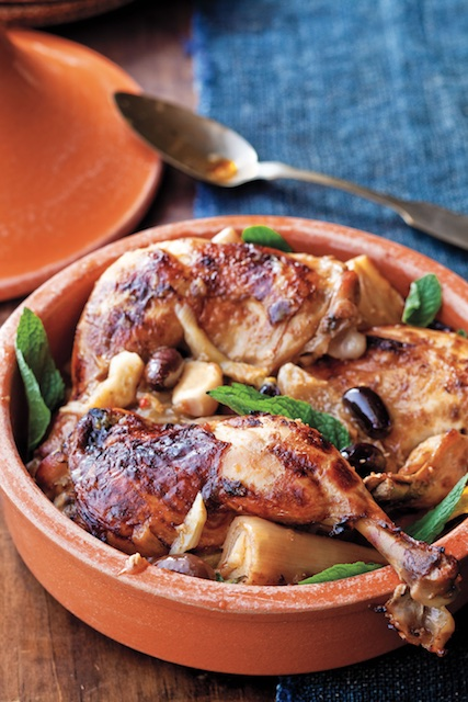 Chicken Tagine Sure to Warm Winter Nights
