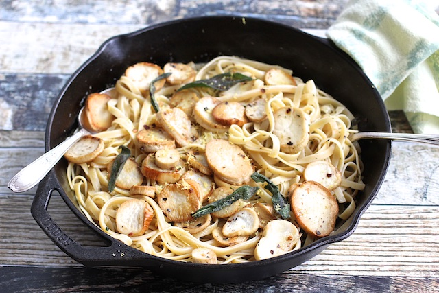 These Trumpet Mushrooms Beg for Linguini