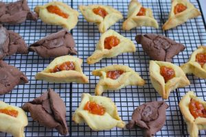 kosher dairy free chocolate hamantaschen