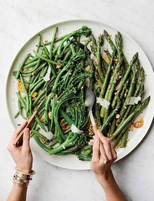 Kushner, Passover veggies