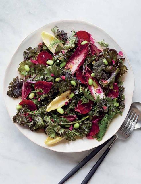 Kale salad Kim Kushner