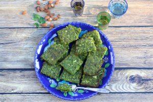 vegetarian dairy free kosher Persian Greens Frittata