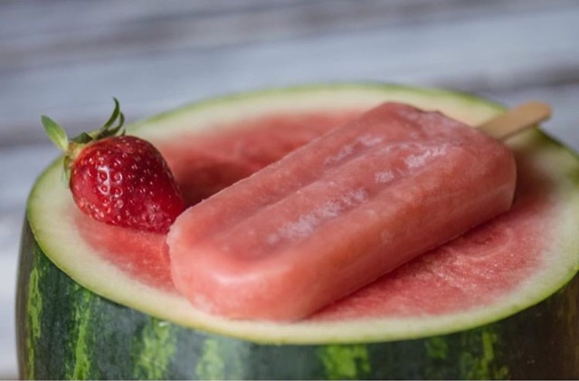 kosher vegan watermelon ice pops