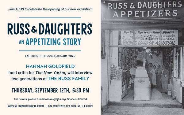 Russ & Daughters Shares Appetizing History