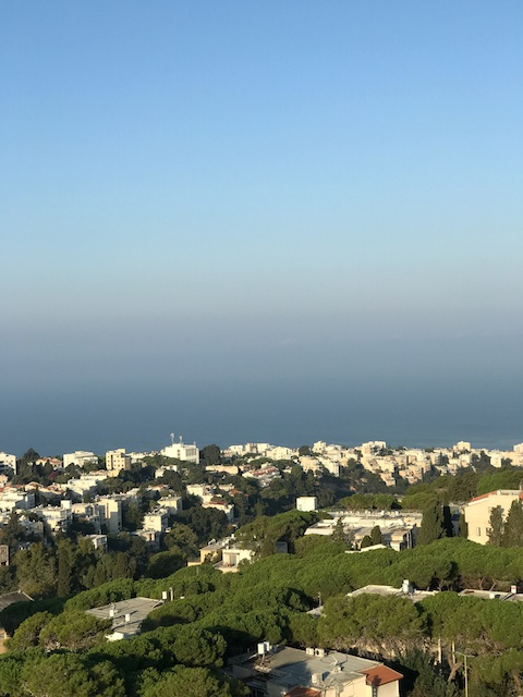 Haifa Bay view