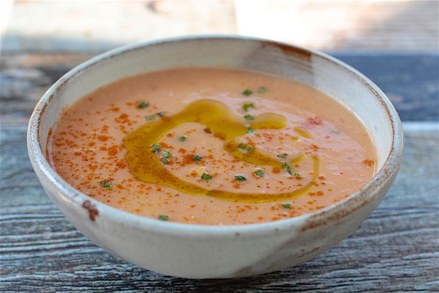 vegan kosher corn soup