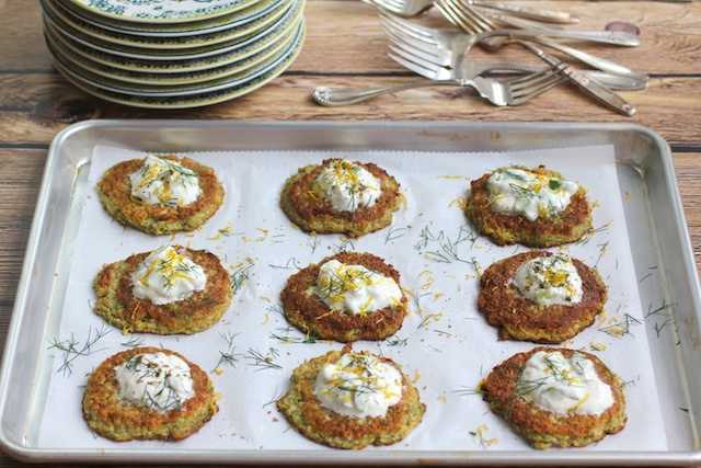 3 Tips to Healthier Chanukah + Broccoli & Cauliflower Latkes