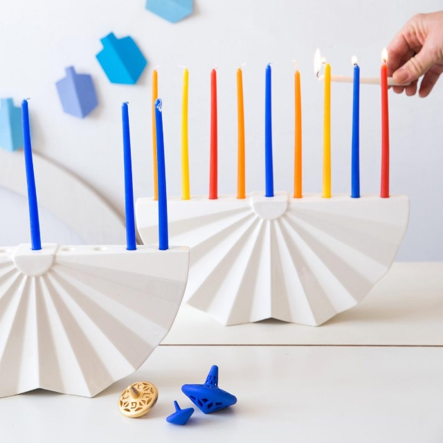 Menorah Chanukah Kosher Like Me