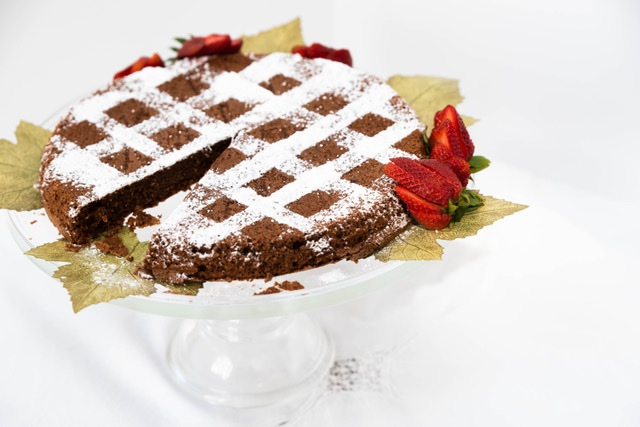 Passover Chocolate Walnut Torte
