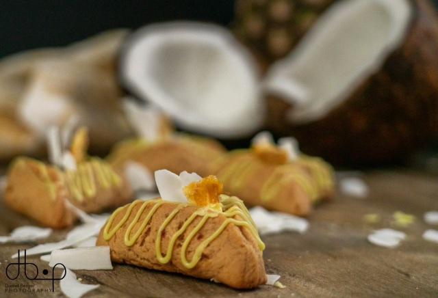 kosher Pineapple Coconut Purim Hamantaschen
