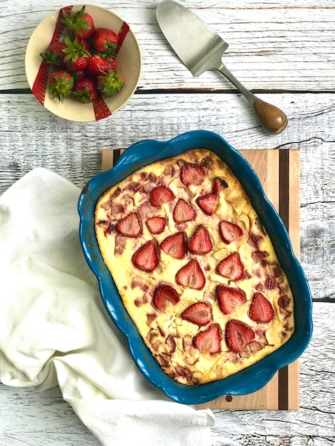 Kosher Like Me Strawberries & Cream Noodle Kugel