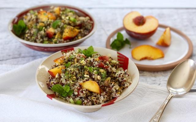 kosher vegan gluten free quinoa summer salad