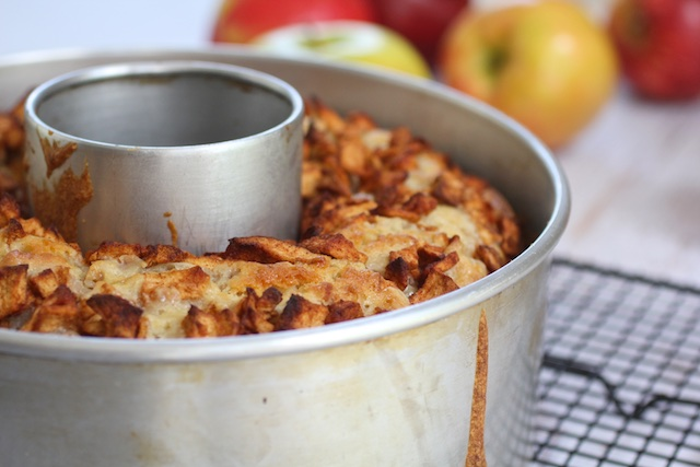 dairy free kosher apple cake Rosh HaShanah