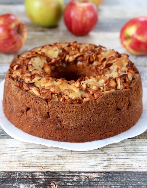dairy free kosher apple cake