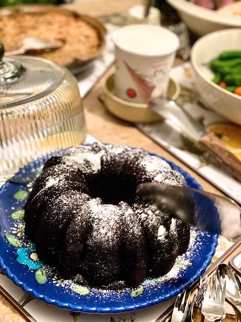 Sukkot Classic Chocolate Cake Ina Garten