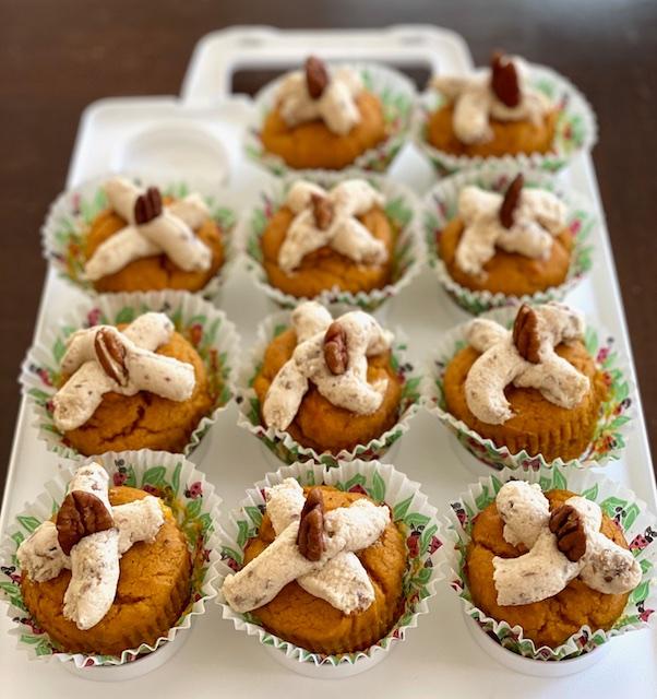 vegan kosher pumpkin cupcakes