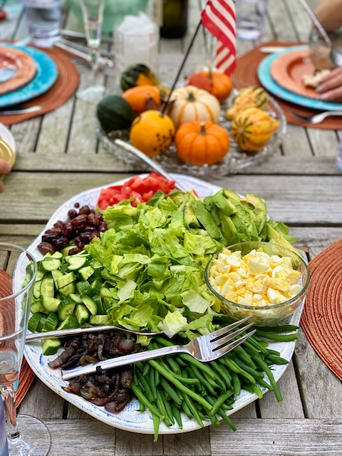 Deconstructed salad Kosher Like Me