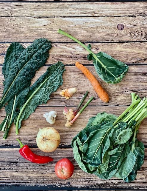 Vegetarian brussels sprouts leaves Kosher Like Me