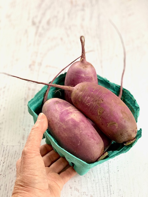 Purple Daikon Radish Kosher Like Me