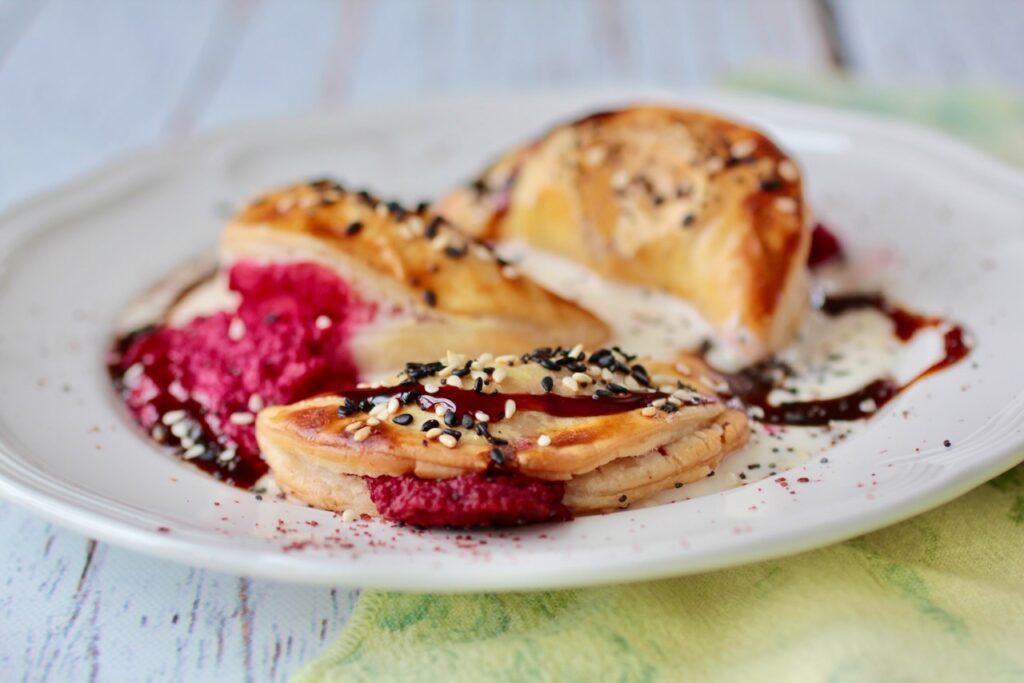 beet and feta Purim Bourekas Kosher Like Me