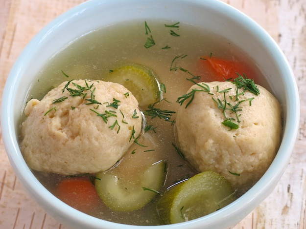 Kosher Like Me Passover chicken soup